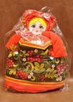 Кукла - грелка на чайник 1
